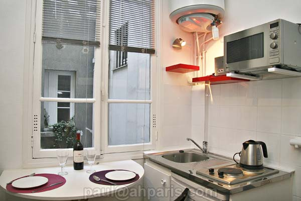 Ah Paris vacation apartment 124 - cuisine