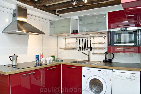 Ah Paris vacation apartment 146 - cuisine