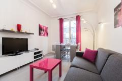 Ah Paris vacation apartment 149 - salon2