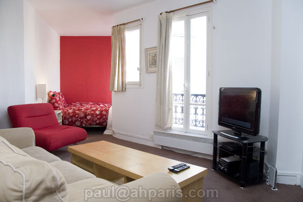 Ah Paris vacation apartment 215 - salon2
