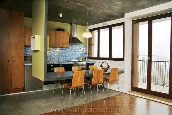 Ah Paris vacation apartment 226 - cuisine