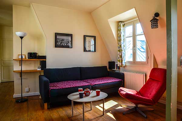 Ah Paris vacation apartment 236 - salon3