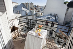 Ah Paris vacation apartment 249 - balcon