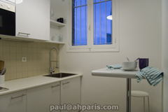 Ah Paris vacation apartment 249 - cuisine