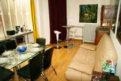 Ah Paris vacation apartment 274 - salon