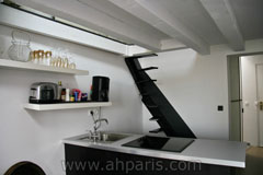 Ah Paris vacation apartment 317 - cuisine