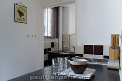 Ah Paris vacation apartment 323 - cuisine2