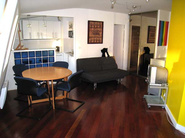 Ah Paris vacation apartment 335 - salon
