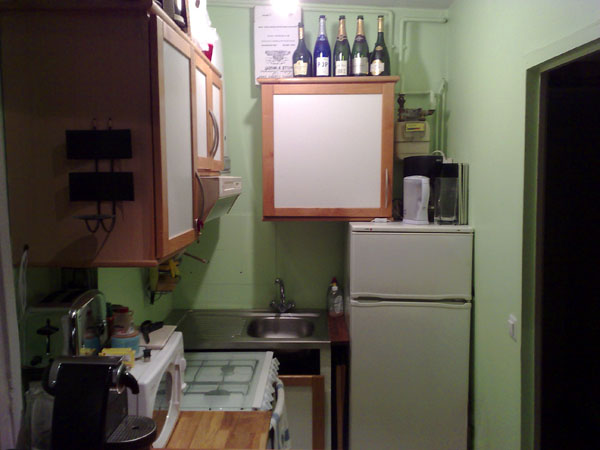 Ah Paris vacation apartment 337 - cuisine