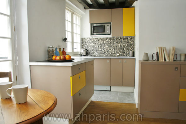 Ah Paris vacation apartment 347 - cuisine