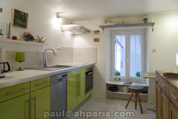 Ah Paris vacation apartment 357 - cuisine2