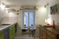 Ah Paris vacation apartment 357 - cuisine