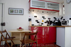 Ah Paris vacation apartment 380 - cuisine