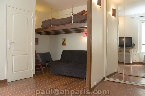 Ah Paris vacation apartment 380 - salon