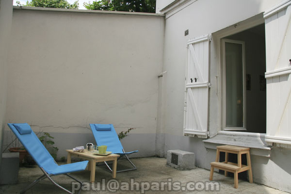 Ah Paris vacation apartment 380 - terrasse