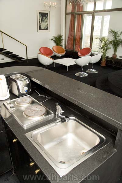 Ah Paris vacation apartment 381 - cuisine