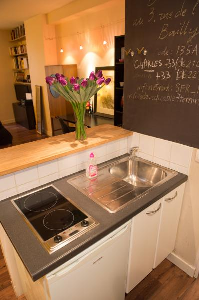 Ah Paris vacation apartment 384 - cuisine
