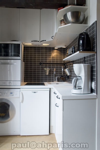 Ah Paris vacation apartment 390 - cuisine