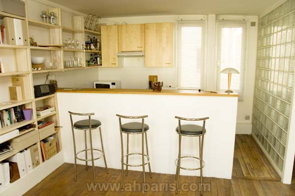 Ah Paris vacation apartment 394 - cuisine