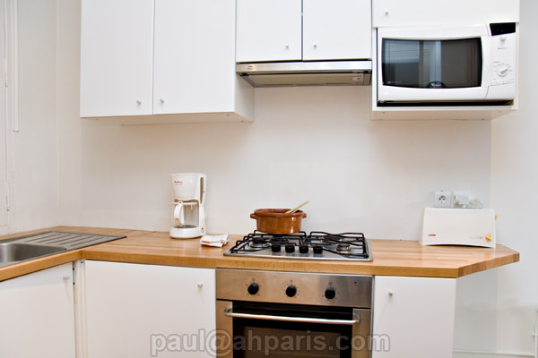 Ah Paris vacation apartment 410 - cuisine3