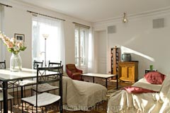 Ah Paris vacation apartment 410 - salon3