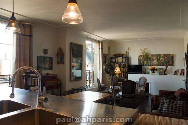 Ah Paris vacation apartment 412 - salon4