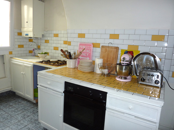 Ah Paris vacation apartment 413 - cuisine2