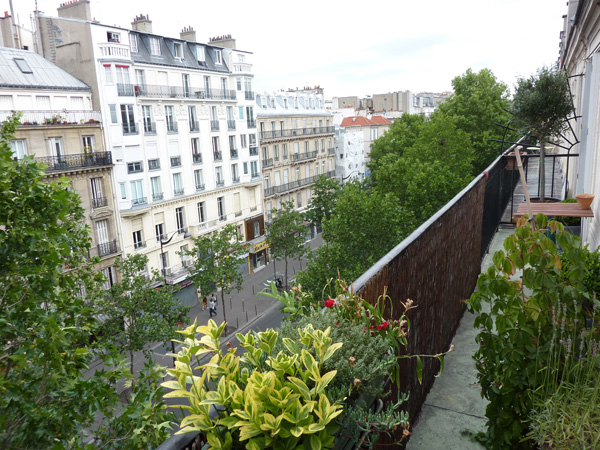 Ah Paris vacation apartment 413 - terrasse2