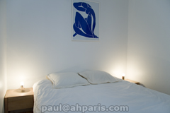 Ah Paris vacation apartment 84 - chambre