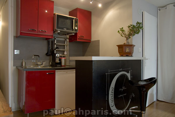Ah Paris vacation apartment 87 - cuisine