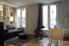 Ah Paris vacation apartment 87 - salon